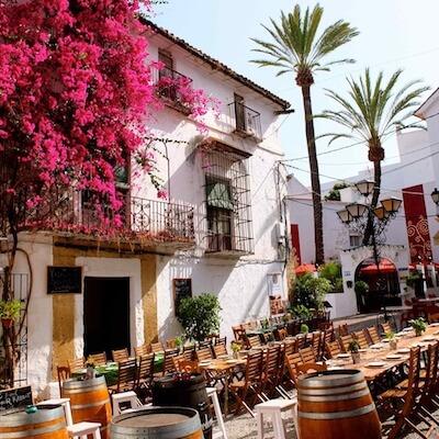 restaurant in Marbella